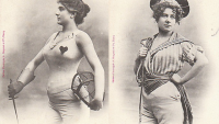1902 Yılında Fransız Sanatçının Gözünden Geleceğin Kadınları