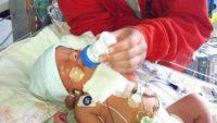 Mucizevi Bir Hikaye: Anne Karnındaki Bebeğin Tümörü Alındı!