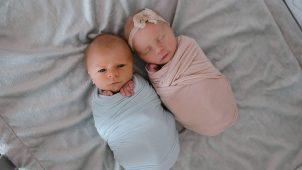 Biri 11 Gün Sonra Ölen İkiz Bebeklerin Yüreğinize Dokunacak Fotoğrafları