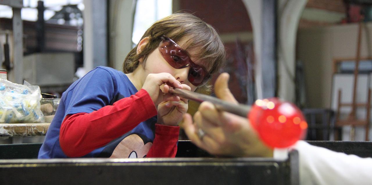 çocuklar için cam atölyesi