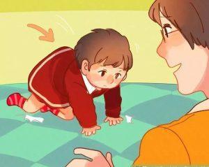 bebeklerde düşme