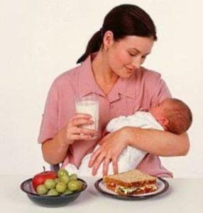 Диета для кормящих мам: гипоаллергенная и для похудения