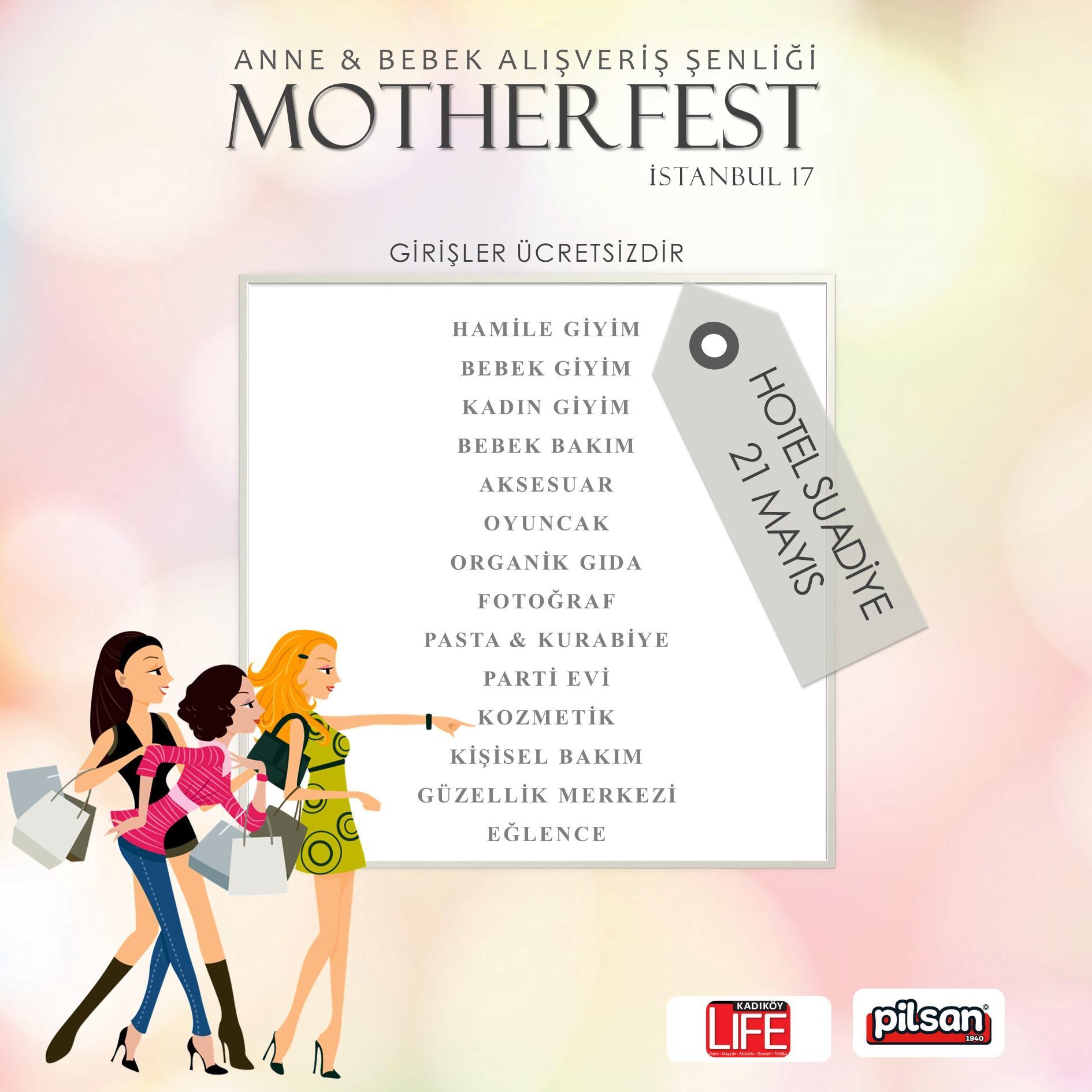 motherfest alışveriş şenliği