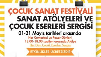 Çocuk Sanat Festivali Tüm Çocukları Bekliyor!