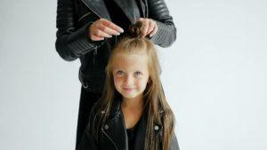 anne kız saç