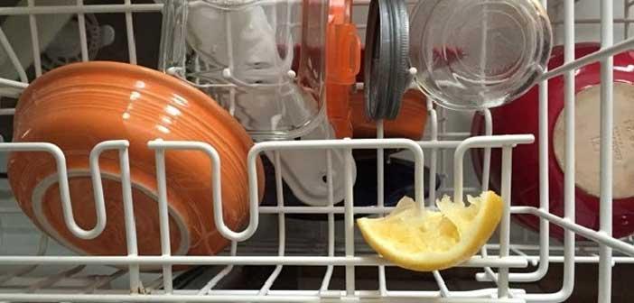 bulaşık makinesine limon