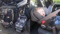 Bu Kaza Fotoğrafı İle Bebek Oto Koltuğu Önemini Anlayacaksınız!