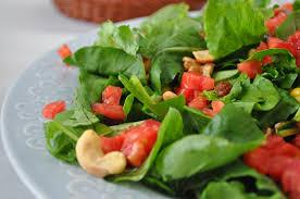 tavuklu rokalı salata