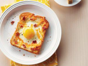 tost ekmeğinde yumurta