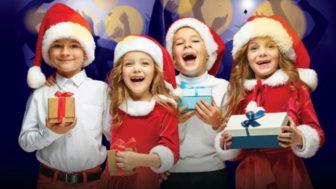 Çocuklar İçin Yeni Yıl Eğlencesi Emaar Square Mall'de